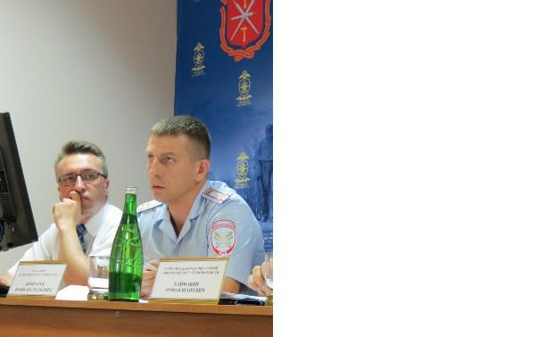 Транспортные полицейские провели совместное мероприятие с общественным советом
