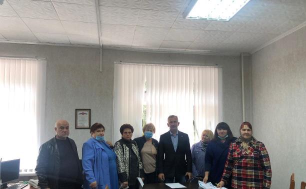 Обучение старост сельских поселений с выездом в Алексинский и Кимовский районы Тульской области