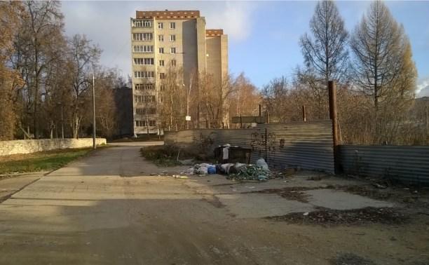 В Алексине не убирают мусор