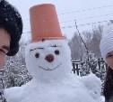 Снеговики в городе