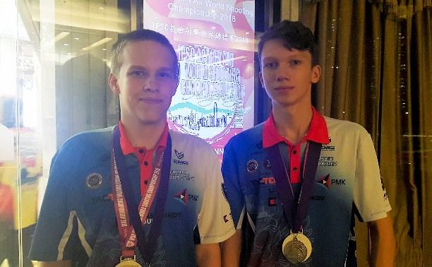 Тульские юниоры стали серебряными призерами Чемпионата Мира по практической стрельбе в Гонконге.