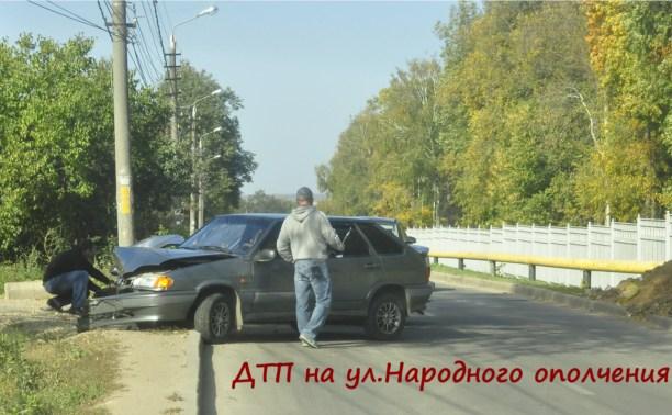 ДТП на ул. Народного ополчения в Туле