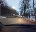 Проезд до села Высокое перекрыт