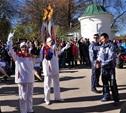 Олимпийский огонь в Туле