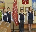 Копия Знамени Победы передана школе №59