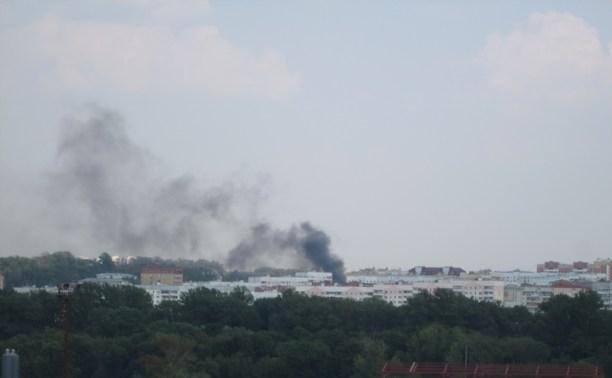 Пожар в Пролетарском районе