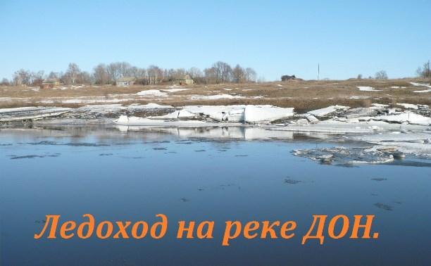 Ледоход на реке Дон.