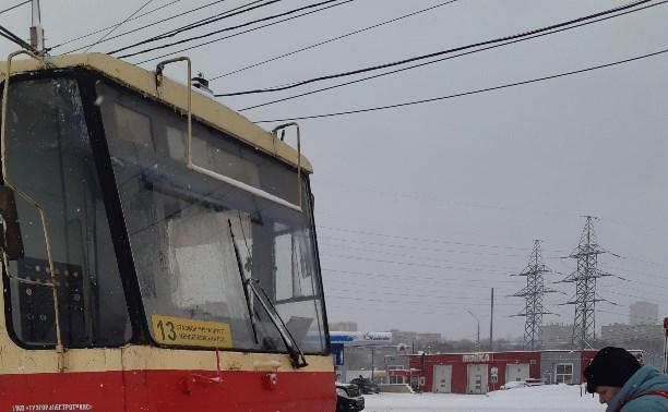 Не по маршруту...13 трамвай...