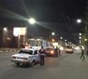Двойное ДТП на Красноармейском проспекте 28.04.2014