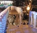 В Парке Горького обрушился мост с людьми