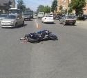 ДТП с мотоциклистом