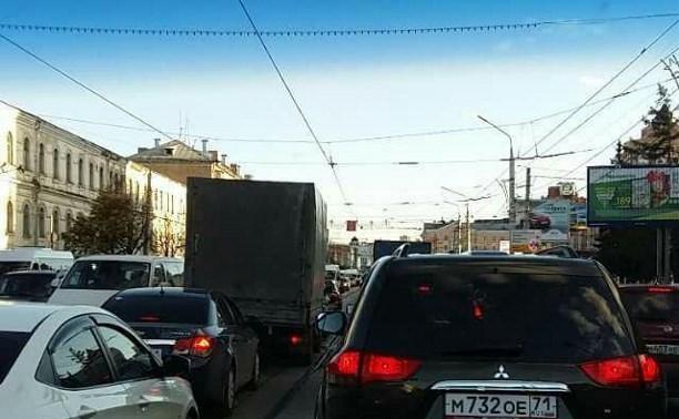 Пробки на Советской?
