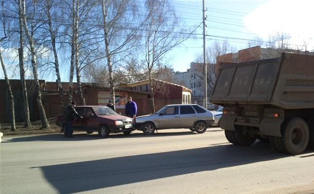 ДТП на Одоевском шоссе в Туле