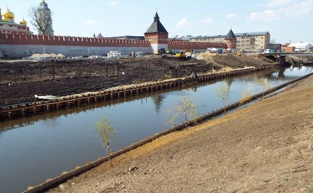 Тульский кремль со стороны Упы (и ТОЗа)