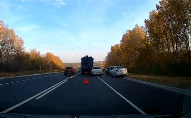 ДТП в районе села Пятницкое Киреевского района