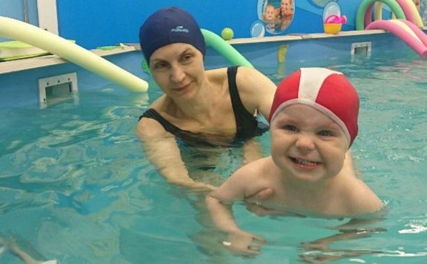 Плаваем с малышами