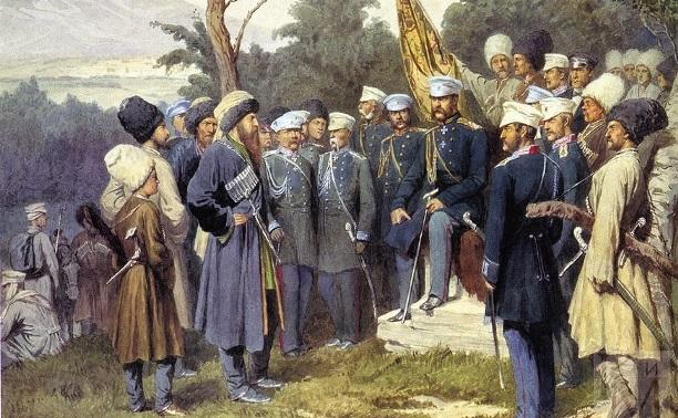 21 сентября: в Тулу приехал вождь горских народов Шамиль