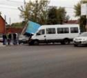 Авария на Октябрьской с Токарева