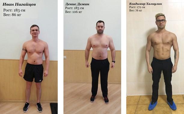 «NERGичное тело 2017»: Представляем участников-мужчин