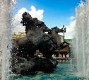 Выбраны лучшие кадры с фонтанами