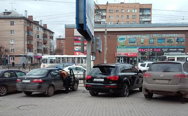 Парковка на тротуарах уже разрешена?