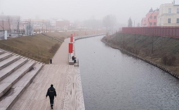 30 фотографий туманного города