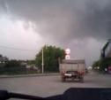 Ураган в Воскресенске. Видео с регистратора