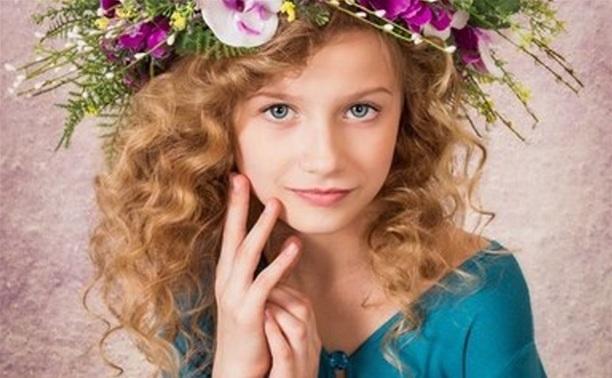 Катя Тихонова - «Лучшая детская модель Тулы 2014»