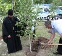 В Туле высадили аллею памяти стражей порядка, погибших в годы Великой Отечественной войны