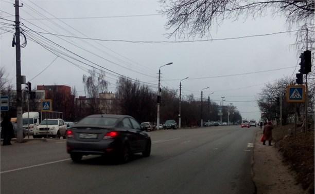 На Одоевском шоссе не работают светофоры.
