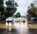 Дождь рисует акварелью