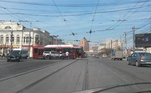 Пробки в центре