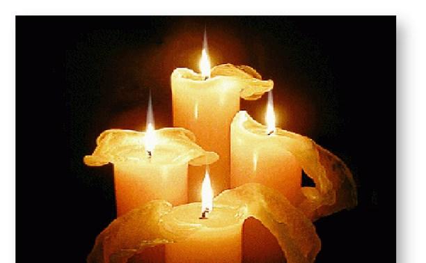 Мои стихи: Песня о четырех свечах