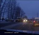 ДТП на Одоевском шоссе, столкнулось 3 машины