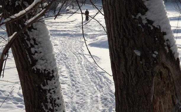 Опасный лёд Платоновского парка