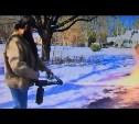 Житель Вирджинии расчистил дорогу от снега с помощью огнемёта