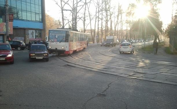 ДТП напротив Центрального бассейна
