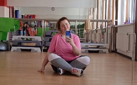 Татьяна Медведева: «Есть минус 7 кг!»