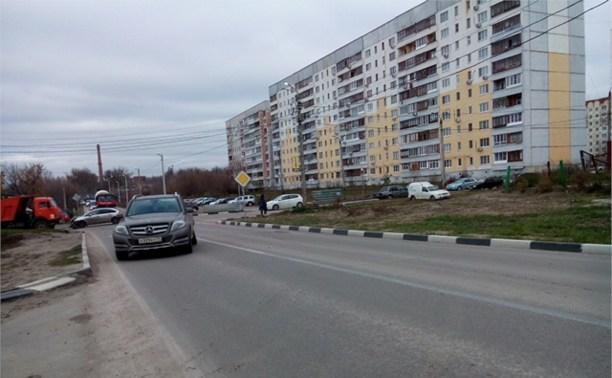 На Пролетарской ДТП из двух авто.