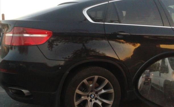 В ДТП на ул. Иншинский пр-д. поцарапали БМВ X6