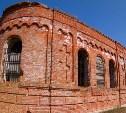 Храм из бывшего в употреблении кирпича