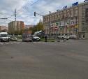 ДТП на перекрестке ул Ложевая и ул. Степанова.