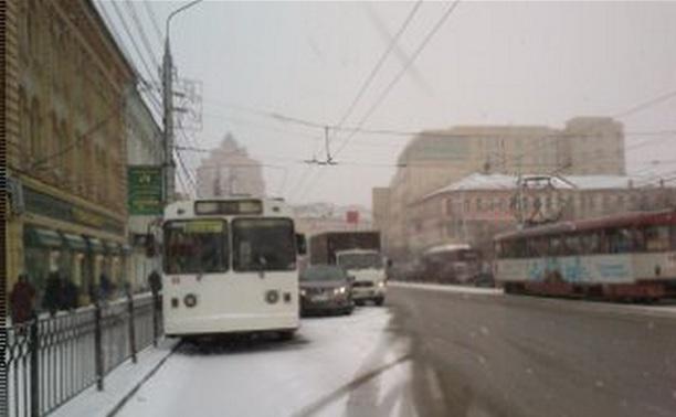 На ул. Советская ДТП из трех автомобилей.