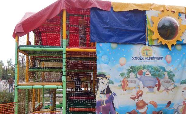 Детский парк Пролетарского района: Тошнотворные развлечения