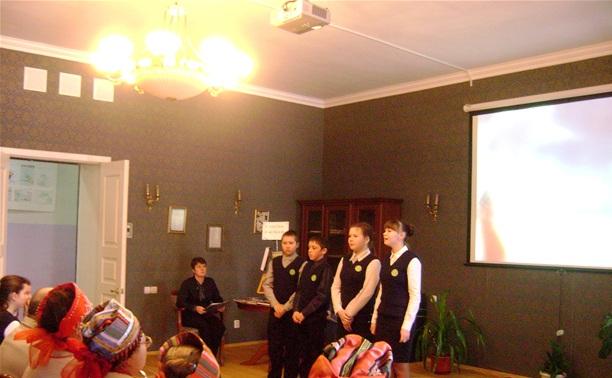 Английский клуб в Крапивне