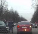 На улице Кирова произошло дтп.