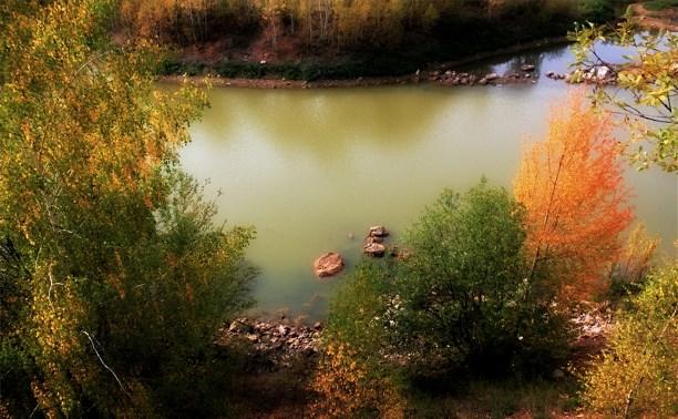 Осенний карьер