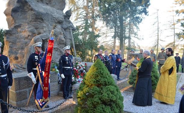 14 июля: Туле подарили фотографии памятника «Погибшим за Отечество»