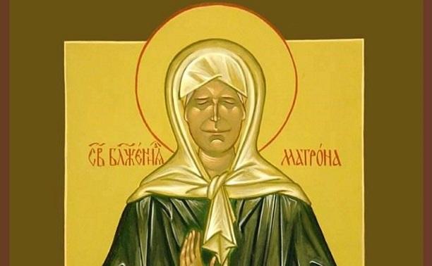 В Тульской области икону Святой Матроны передадут храму в с. Мокрый Корь