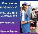 Приглашаем на фестиваль профессий!